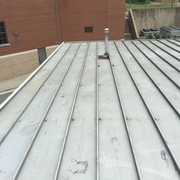 Commercial Roof before coating