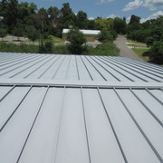 Commercial Roof After coating